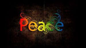 Превью обои абстракция, peace, цветной, узоры