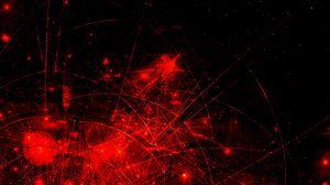 Превью обои абстракция, красный, черный, вселенная, пространство, звезда, галактика, космос