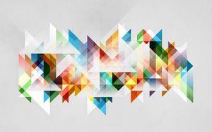 Превью обои абстракция, геометрия, фигуры, цвета