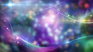 Превью обои абстракция, свет, блеск, блики, разноцветный