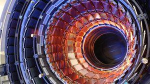 Превью обои адронный коллайдер, hadron collider, ускоритель, частицы