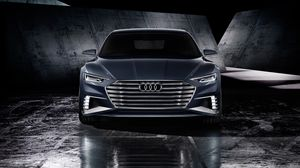 Превью обои audi, prologue, avant, 2015, концепт, вид спереди