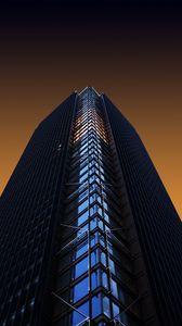 Превью обои башня, небоскреб, здание, архитектура, минимализм