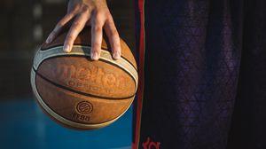 Превью обои баскетбол, мяч, спорт