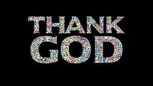 Превью обои благодарность, бог, молитва, надпись