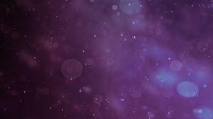 Превью обои блики, боке, фиолетовый, темный