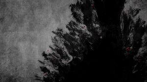 Превью обои брызги, темный, тень, воображение