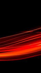 Превью обои черный, красный, линия, свет