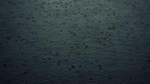 Превью обои дождь, капли, брызги, темный