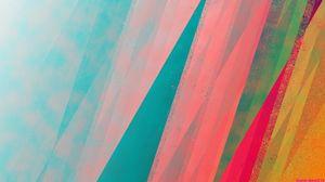Превью обои фон, лучи, спектр, цвет