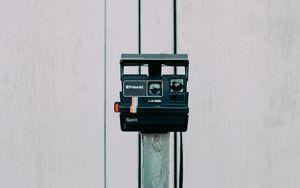 Превью обои фотоаппарат, полароид, старый, камера, фотография