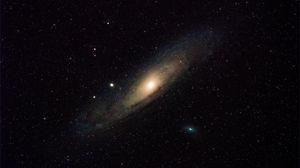 Превью обои галактика, звезда, звездное небо
