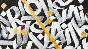 Превью обои граффити, надписи, арт, буквы, стена
