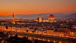 Превью обои италия, флоренция, firenze, la cattedrale, ди санта мария дель фьоре