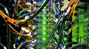 Превью обои кабели, провода, подсветка, сеть