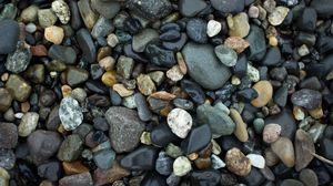 Превью обои камни, морские, влажный