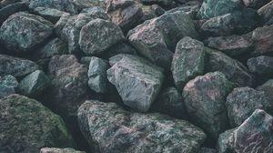 Превью обои камни, поверхность, серый