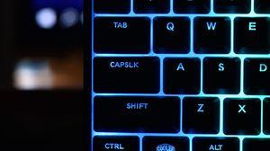 Превью обои клавиатура, клавиши, подсветка, символы, буквы