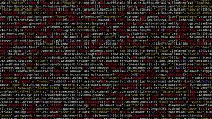 Превью обои код, символы, текст, программирование, текстура