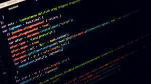 Превью обои код, текст, программирование, буквы, символы