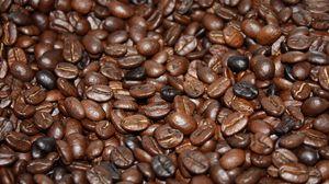 Превью обои кофе, зерна, жареный