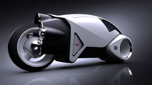 Превью обои концепция, прототип, мотоцикл, будущее