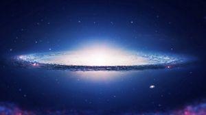 Превью обои космос, небо, спираль, галактика