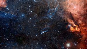 Превью обои космос, небо, звезды
