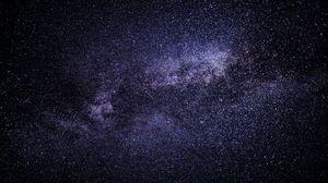 Превью обои космос, звезды, туманность, галактика