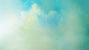 Превью обои краска, трещины, мягкие цвета, синий