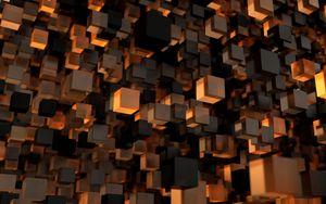 Превью обои куб, форма, 3d, фигура
