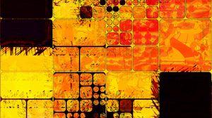 Превью обои квадраты, разноцветный, текстура, размеры, формы