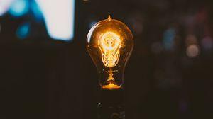 Превью обои лампа, электричество, свет, блики