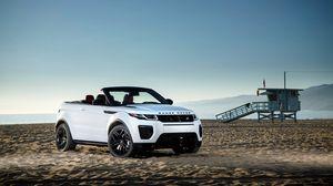 Превью обои land rover, range rover, evoque, вид сбоку