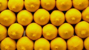 Превью обои лимоны, цитрусы, желтый