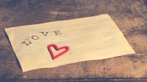 Превью обои любовь, надпись, сердце
