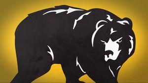 Превью обои медведь, рисунок, животное