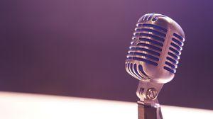 Превью обои микрофон, устройство, прибор, электроакустика
