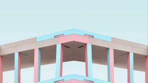 Превью обои минимализм, здание, архитектура