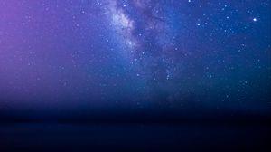 Превью обои млечный путь, звезды, звездное небо