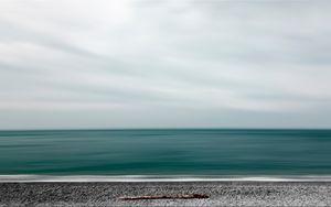 Превью обои море, берег, минимализм