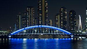 Превью обои мост, эитаи, токио, япония