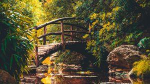 Превью обои мост, река, остин, сша