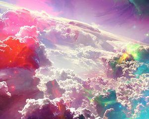 Превью обои небо, свет, абстракция