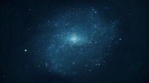 Превью обои небо, звезды, фон, точки