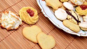 Превью обои печенье, выпечка, десерт, джем