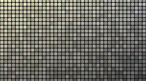 Превью обои пиксели, мозаика, монохром, чб, градиент