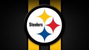 Превью обои pittsburgh steelers, американский футбол, логотип