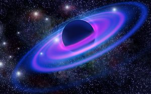 Превью обои планета, галактика, вселенная, звезды