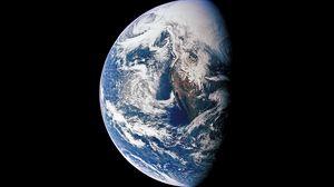 Превью обои планета, земля, космос, пространство